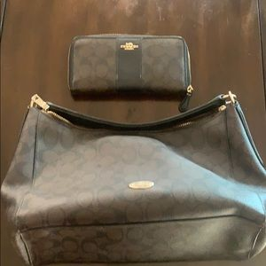 Coach Bag and matching wallet